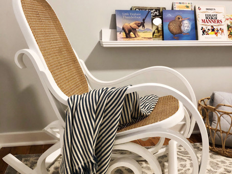 From Old to New - Stunning Nursery Chair Transformation!
