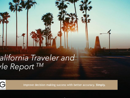 """Travel Analytics Group """"TAG"""" is Pleased To Announce The California Traveler"""