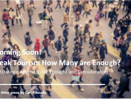 Coming Soon! A Tourism Think Piece You Don't Want to Miss!