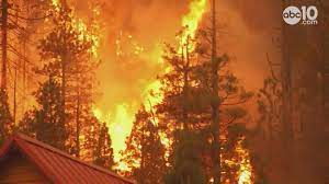 Dispatch from the Caldor fire #1. El Dorado County