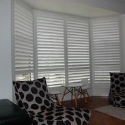 Bay Window PVC Shutter