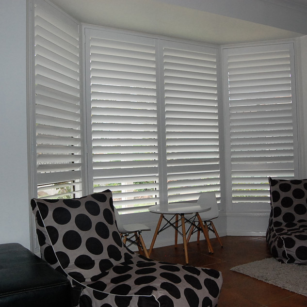 Bay Window PVC Shutter
