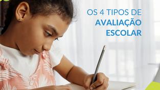 Os 4 tipos de avaliação da aprendizagem escolar