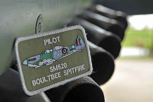 SPITFIRE PILOT BADGE SM520