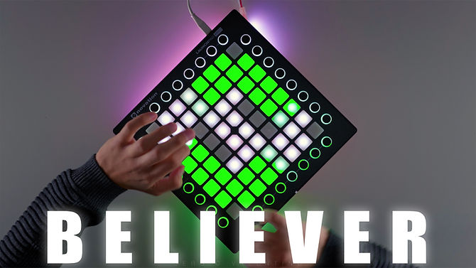 BELIEVER - Imagine Dragons Launchpad Cov