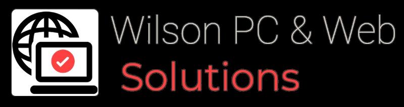 Wilson PC & Web Solutions Logo