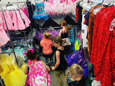 Recital Snapshot 1 :: Class Observation and Costumes!