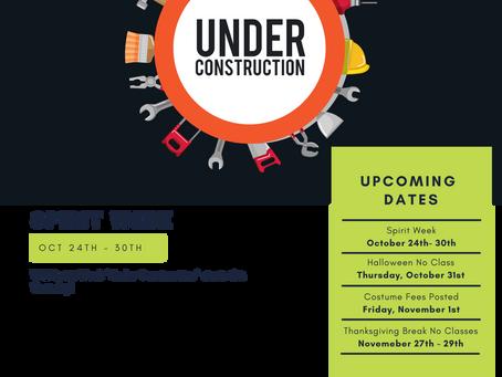 Snapshot :: Spirit Week Under Construction