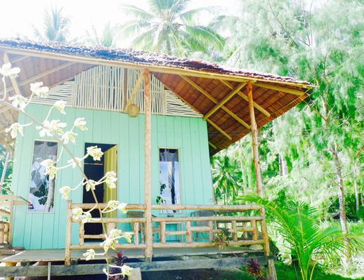 Beachfront Bungalow Togian Islands Poki Poki