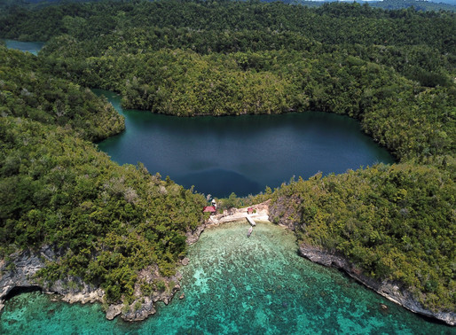 The TOGIAN ISLANDS. Tropical archipelago in Sulawesi.