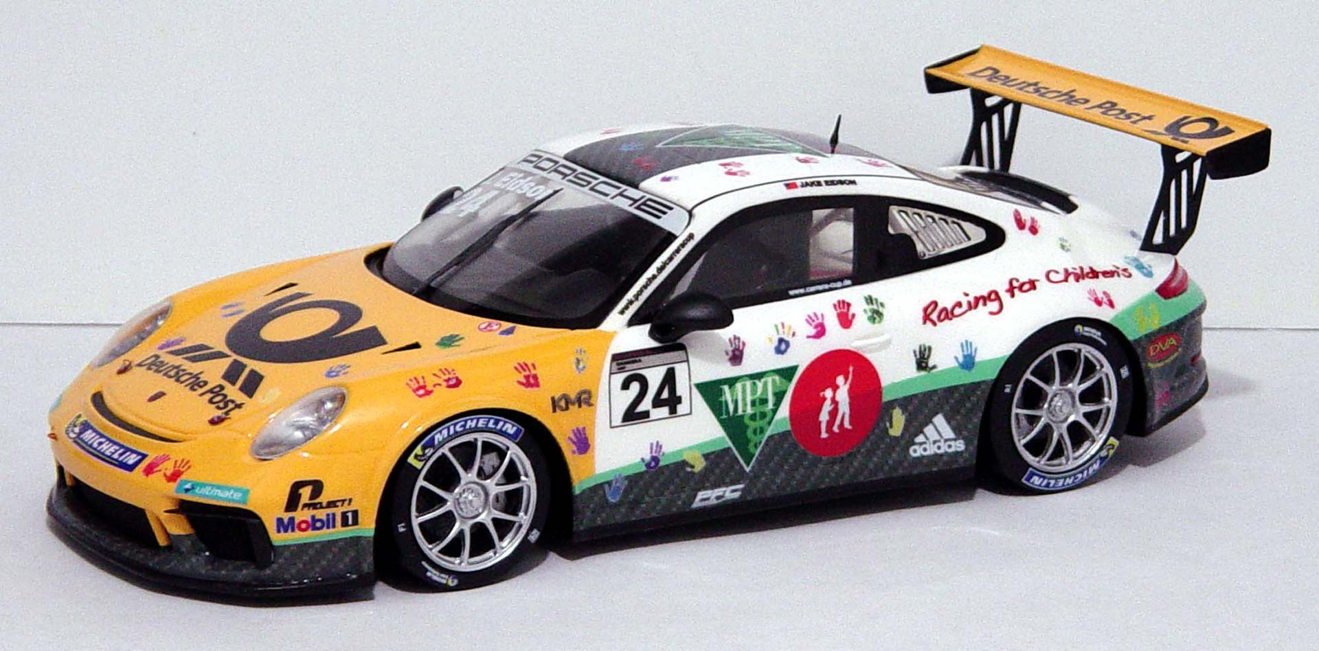 Jake Eidson, German Porsche Cup 2018