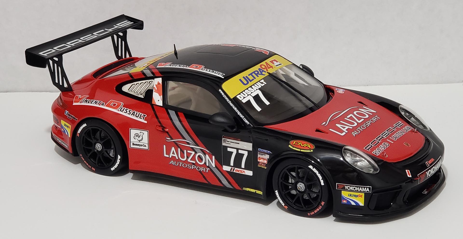 Patrick Dussault, IMSA GT3 Cup Canada 2017