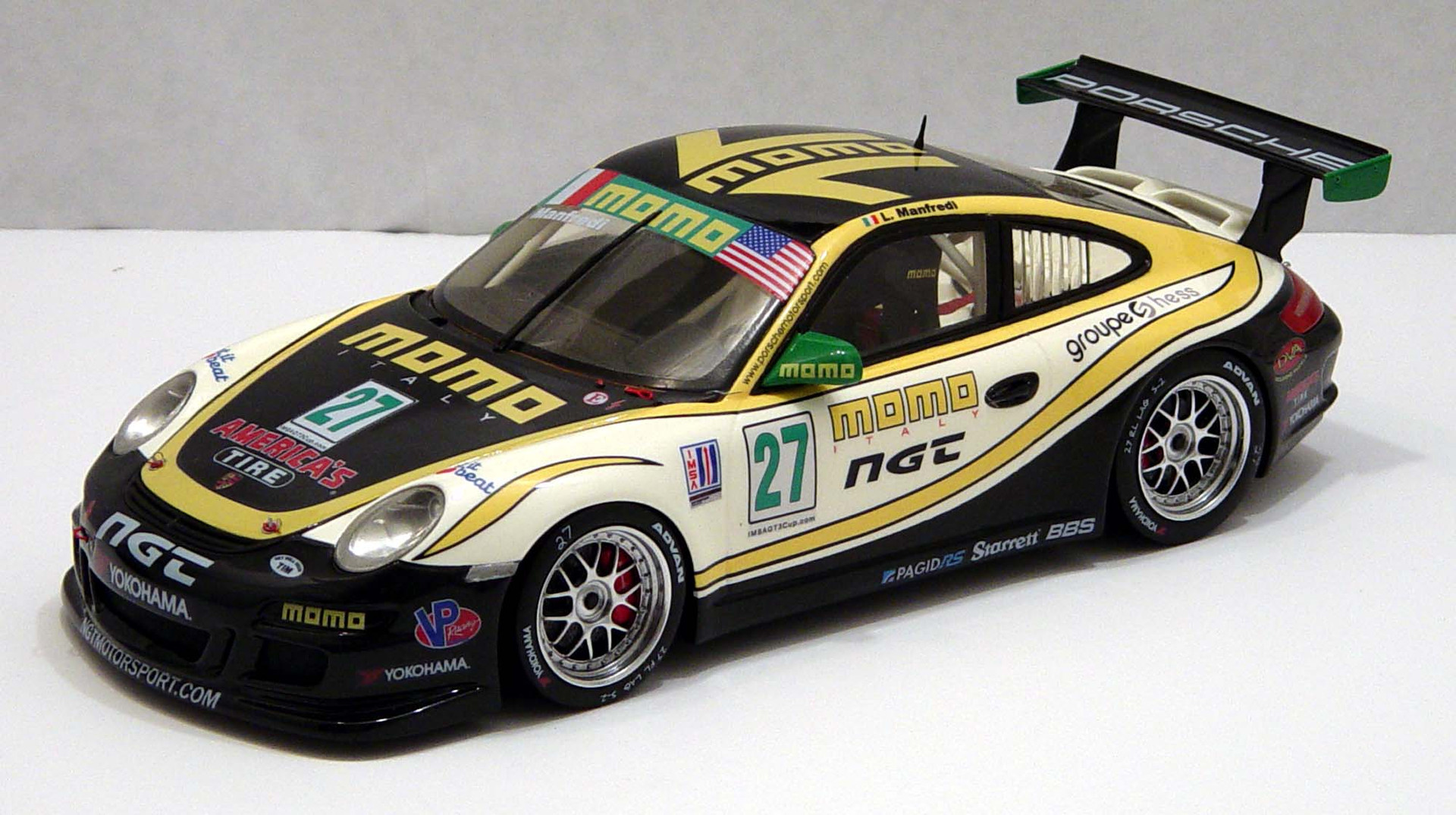 Lodovico Manfredi, IMSA GT3 Cup USA 2012