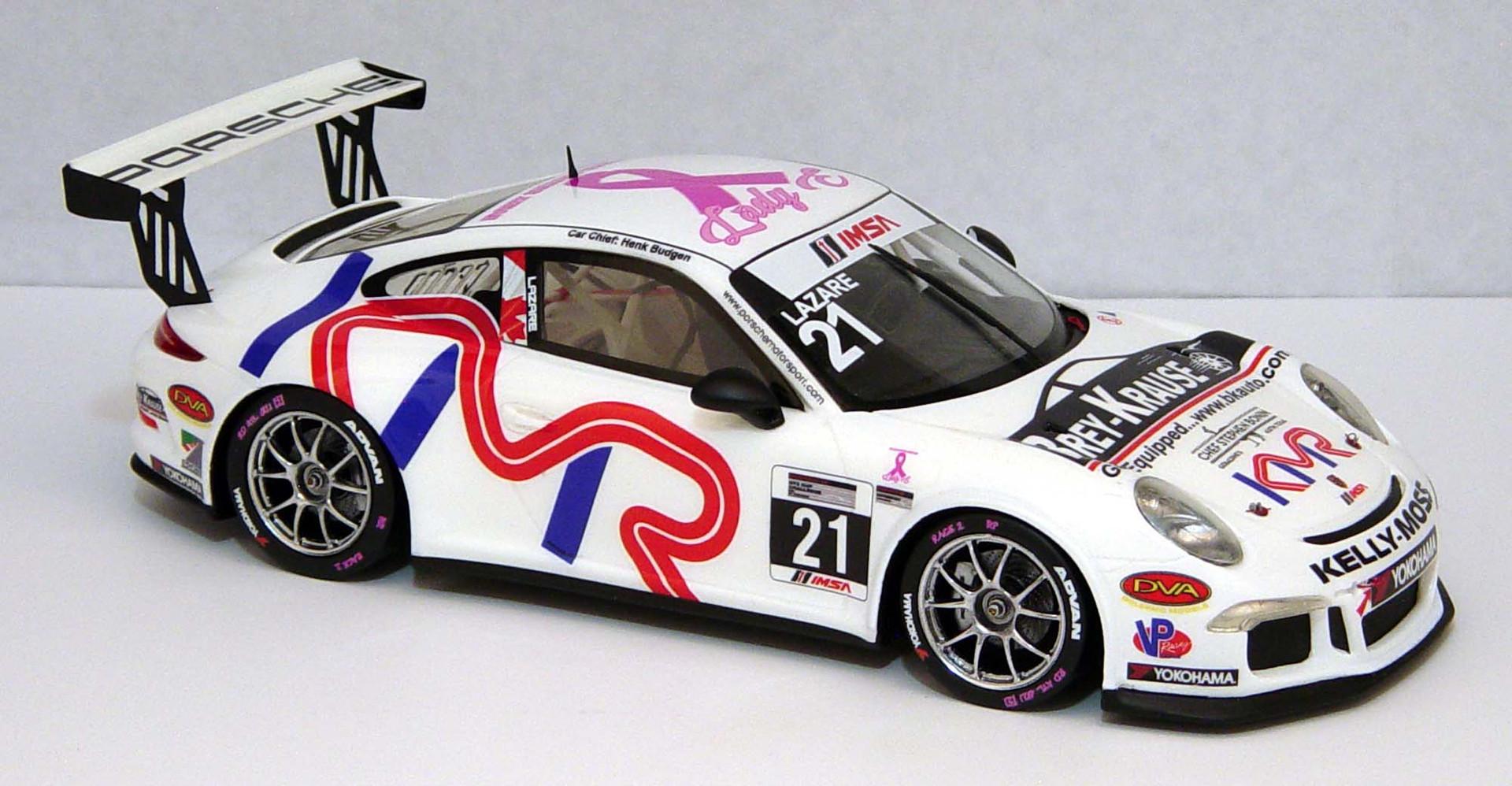 Jesse Lazare, IMSA GT3 Cup USA 2016