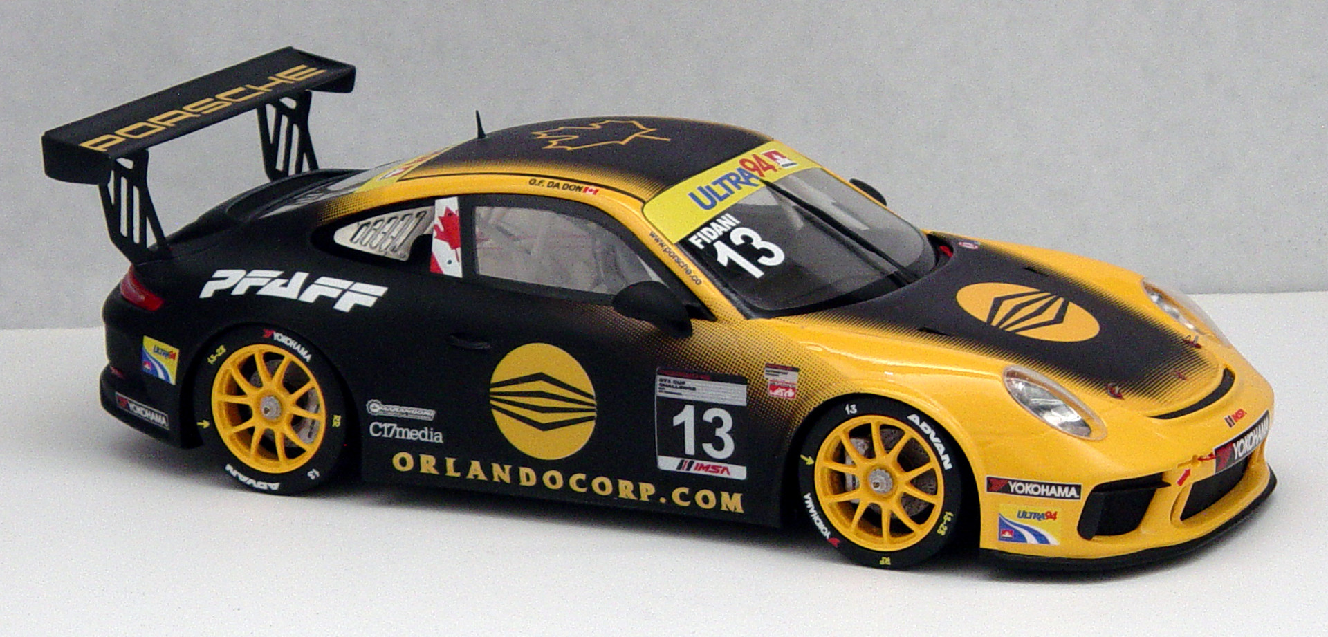 Orey Fidani, IMSA GT3 Cup Canada 2017