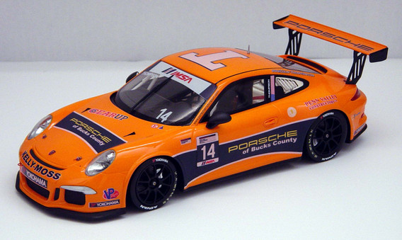 Colin Thompson, IMSA GT3 Cup USA 2014