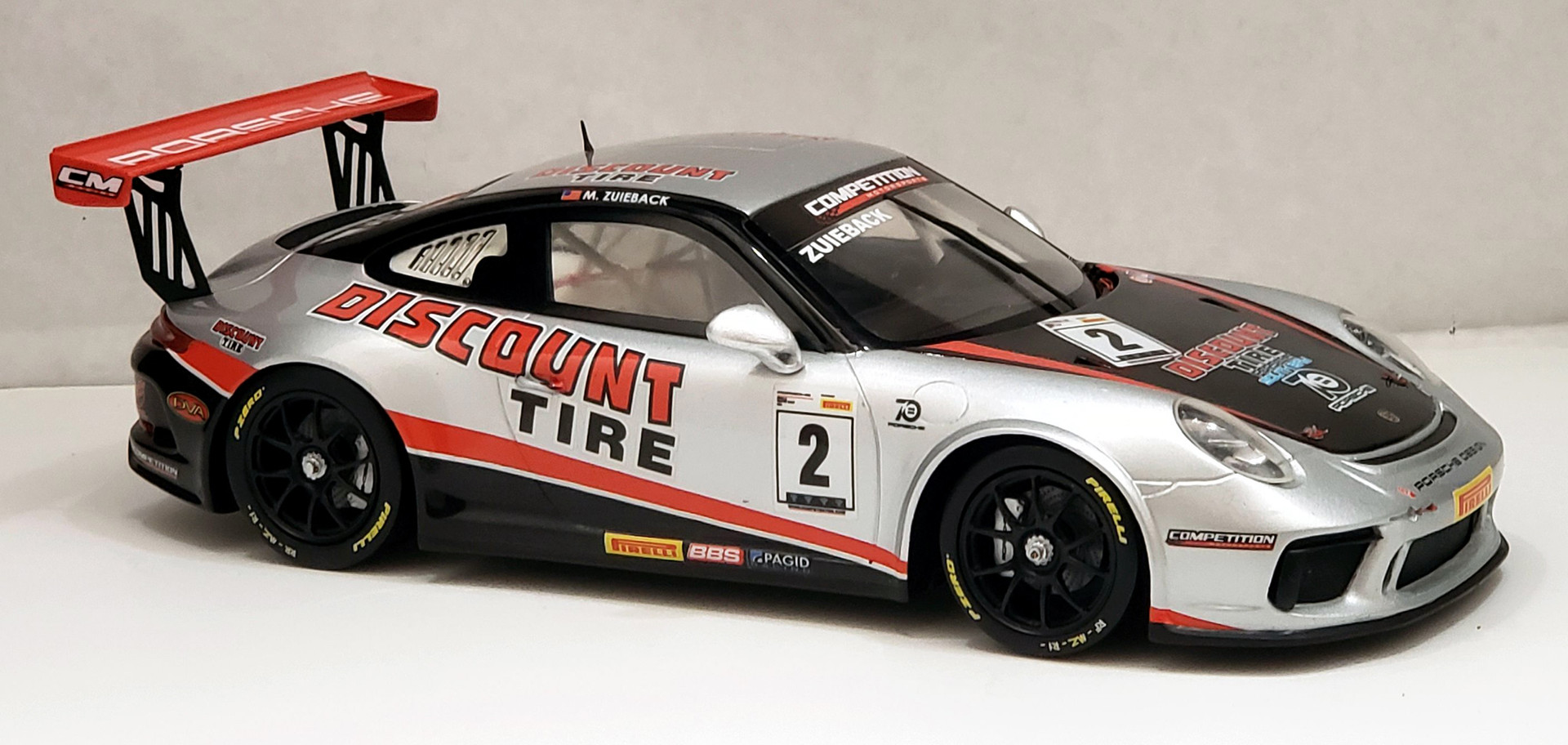 Michael Zuieback, Pirelli GT3 Cup USA 2018
