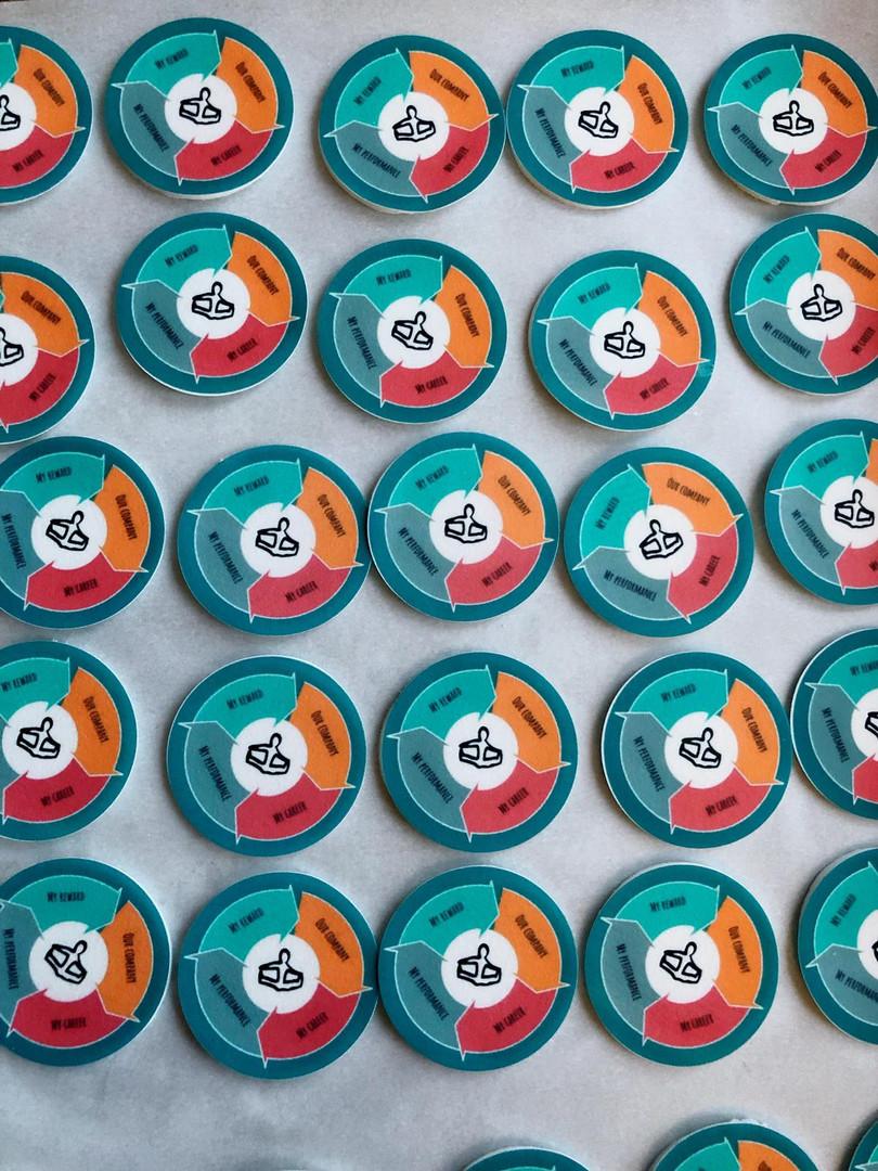 Edible Image Icing Circles
