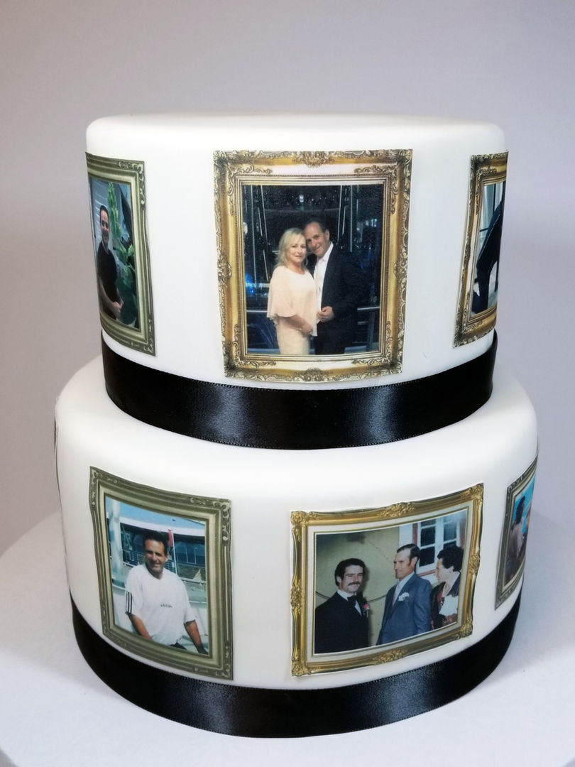 Edible Images on a fondant cake