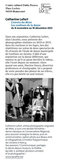 Article expo Homécourt, L'enver du décor