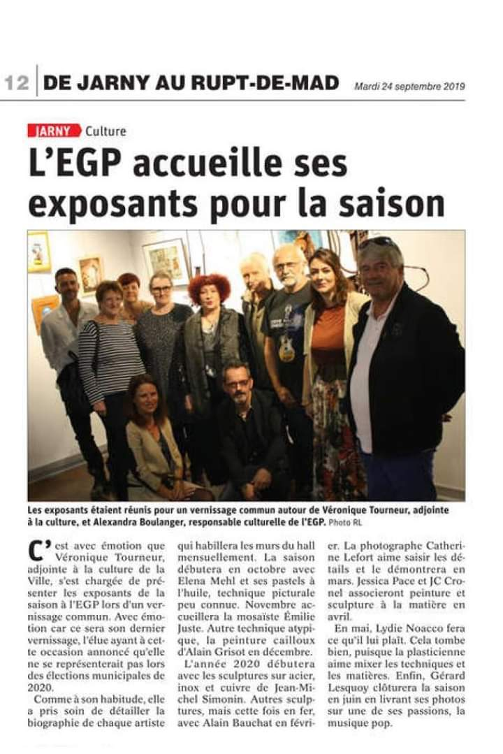 Article exposition Jarny - 2020