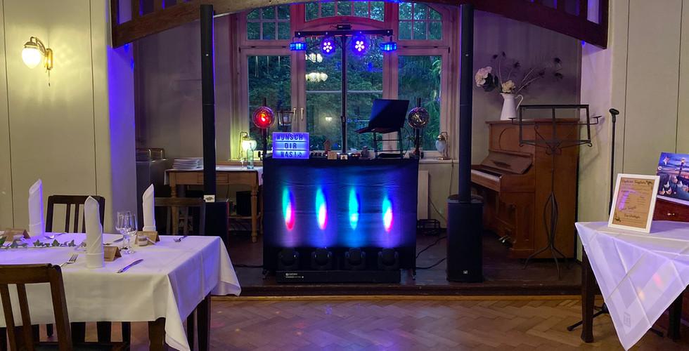 DJ Technik im Fischhaus Dresden