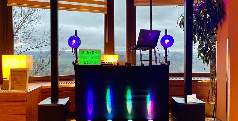 DJ Technik im Panoramarestaurant Bastei
