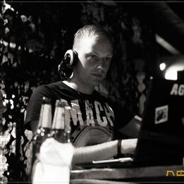 DJ SolitaryX alias DJ Sascha Juranek