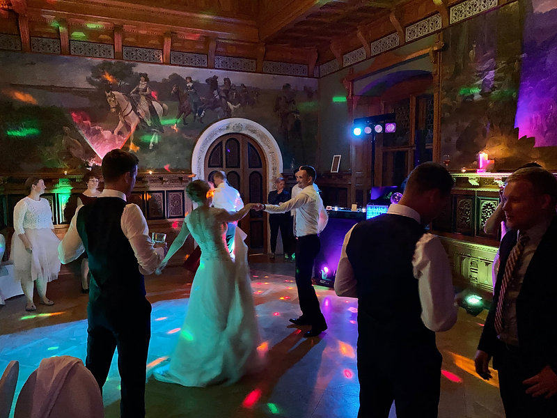 Hochzeitsfeier mit DJ aus Dresden für Ho