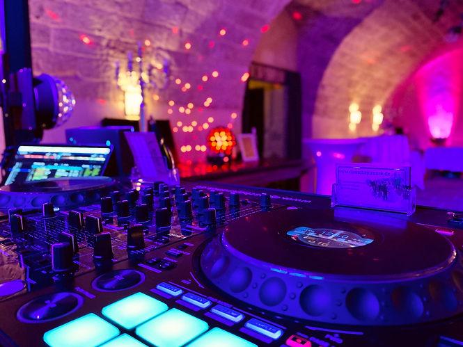 DJ Technik für Hochzeit