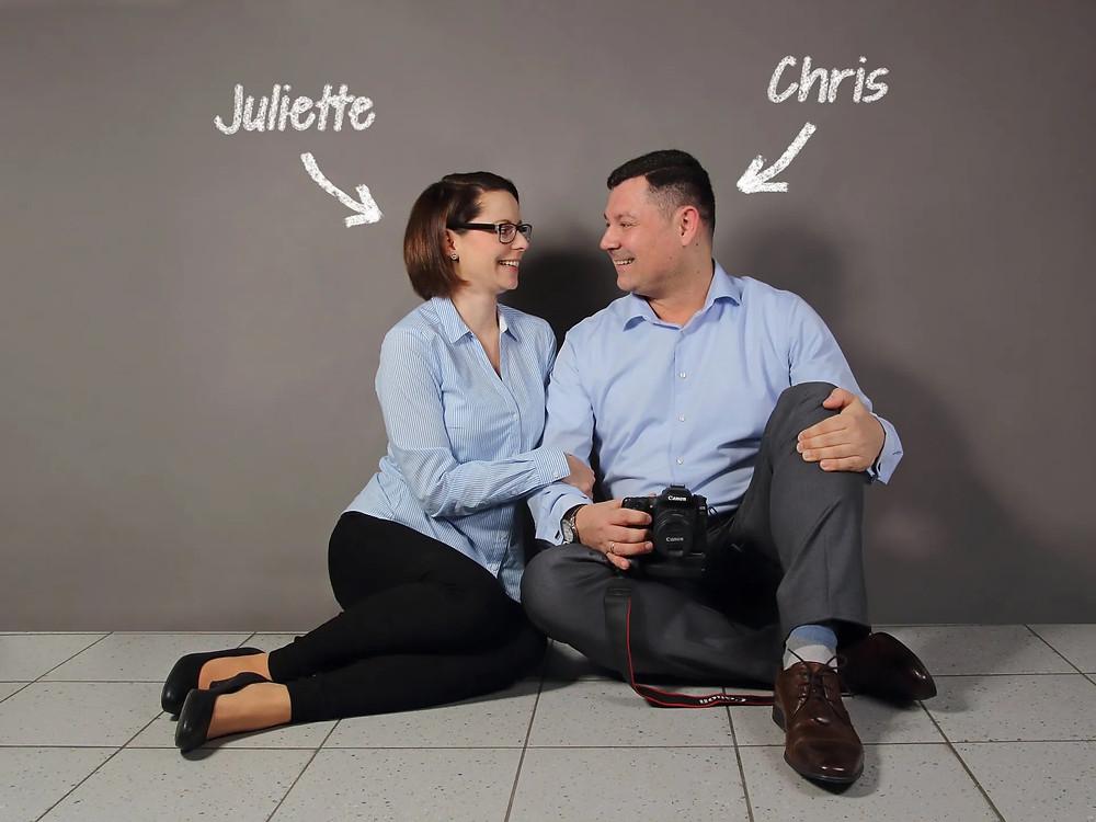 Bild von Juliette & Chris von die Wedding Blitzer
