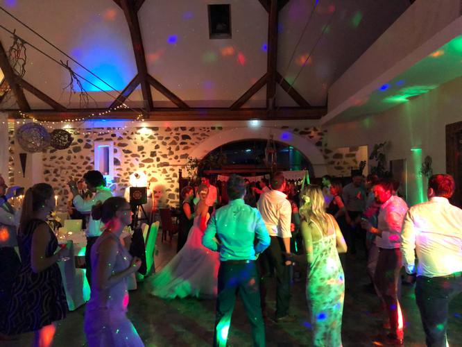 DJ aus Bautzen bei einer großen Hochzeitsfeier