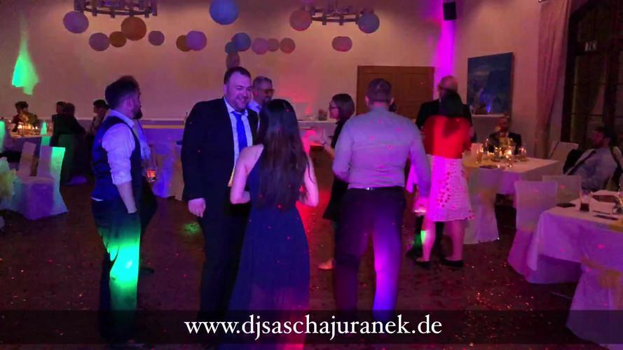 Schloss Burgk mit Hochzeitsfeier