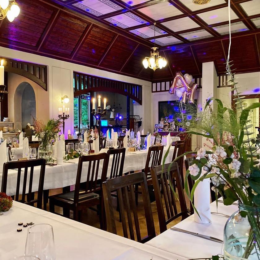 Festsaal im Fischhaus Dresden