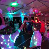 Party mit Ambientelicht
