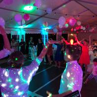 Hochzeitsparty in Chemnitz mit Ambientelicht
