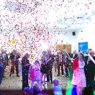 Hochzeitsgesellschaft in Chemnitz