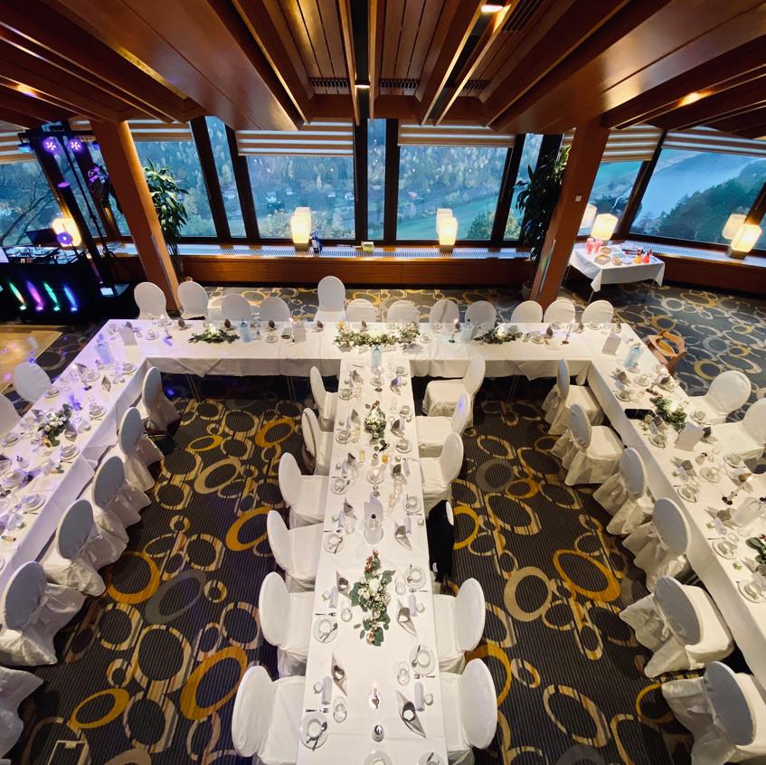 Panoramarestaurante Bastei - Hochzeitssaal