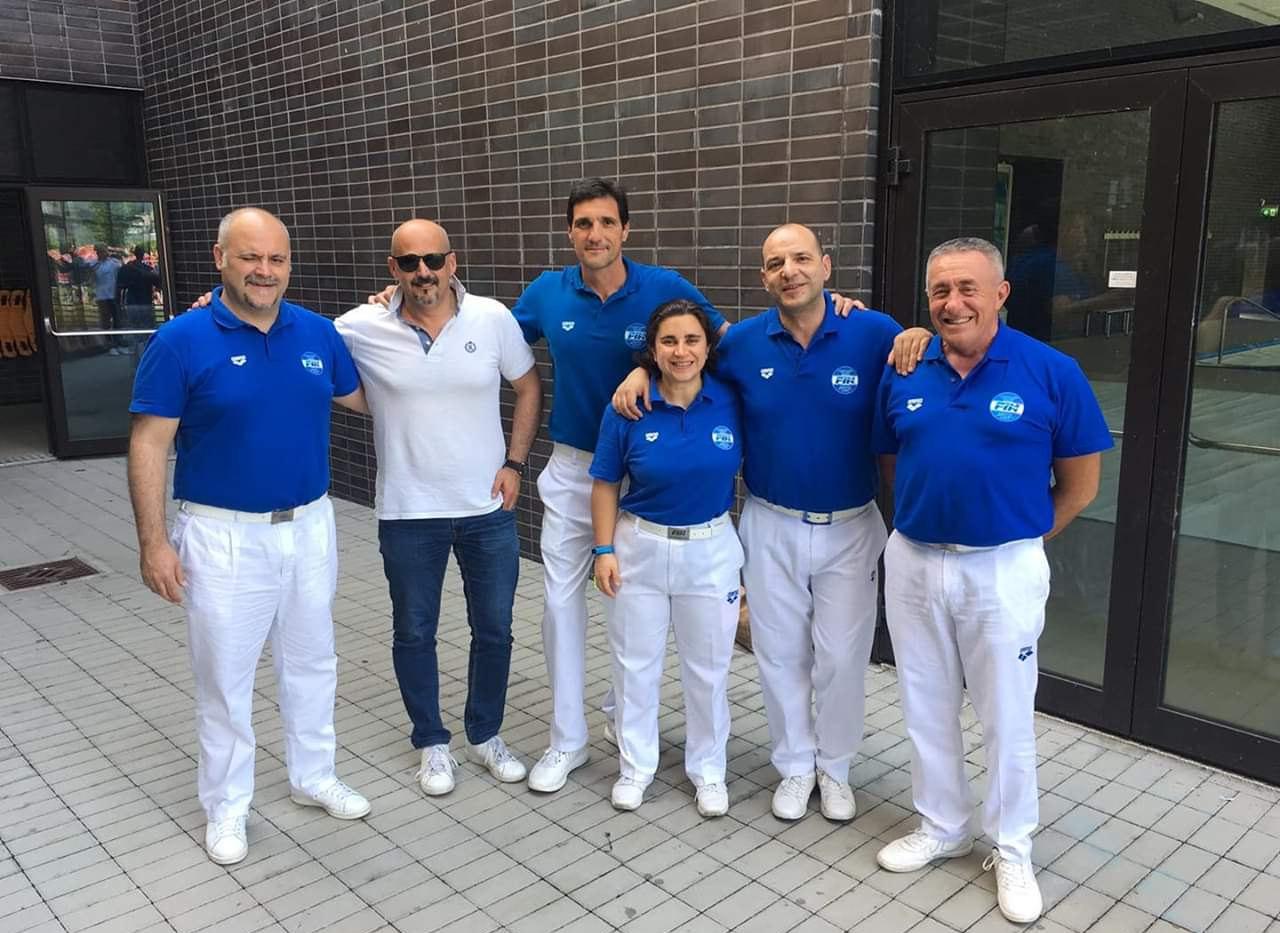 L. Bianco, Brasiliano, Cavallini, Ferrari, Pinato, Trovò