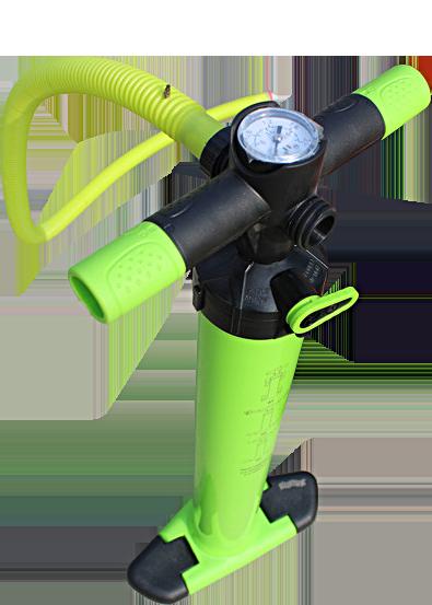 Ruční pumpa s manometrem pro Airtrax Classic a Airtrax Pro