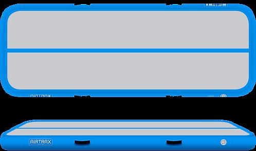 Airtrack 3m x 1m x 10cm – Airtrax Classic – šedá a nebesky modrá