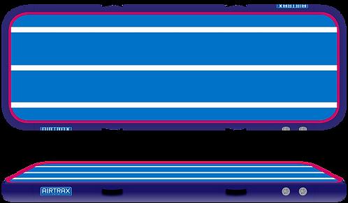 Airtrack 6m x 2m x 20cm – Airtrax Classic – modrá, tmavě modrá, magenta a bílá