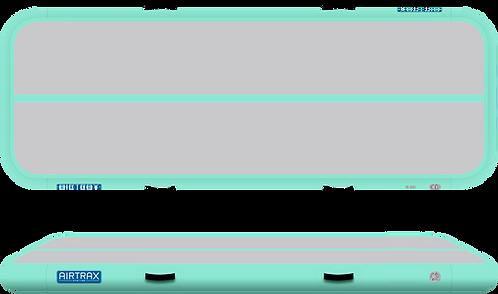 Airtrack 3m x 1m x 20cm – Airtrax Classic – šedá a mátová