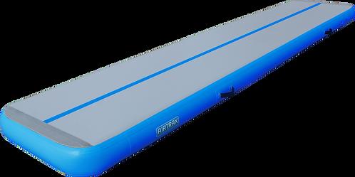 Airtrack 5m x 1m x 20cm – Airtrax Pro – šedá a nebesky modrá