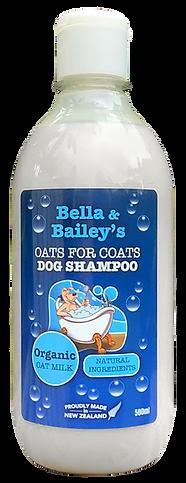 BELLA & BAILEYS OATS FOR COATS SHAMPOO