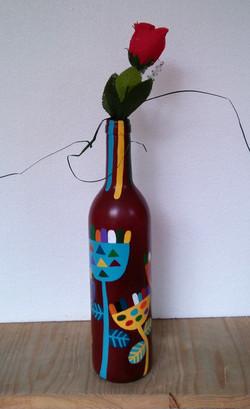 Vazo Şişe9/ Vase Bottle 9 - 85 TL