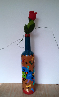Vazo Şişe 5/ Vase Bottle 5 - 85 TL