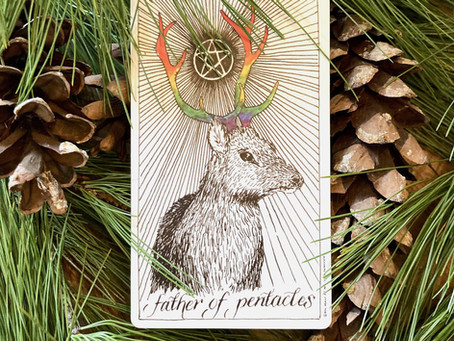 Father Of Pentacles - To be reborn