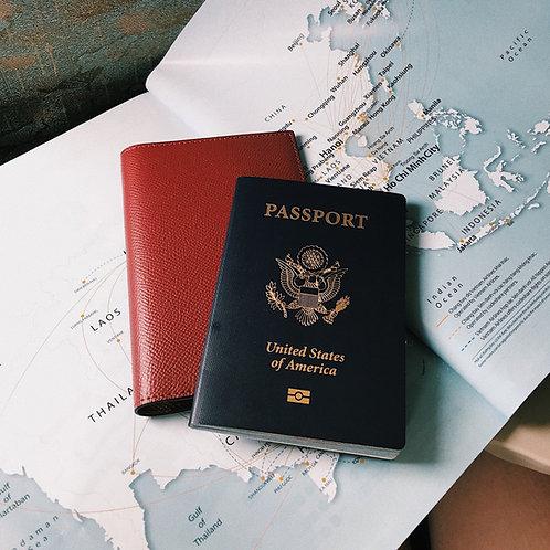 Passport Cover - Crossgrain