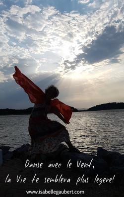 Danse avec le vent